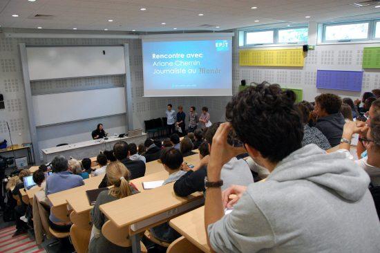 Conférence de rentrée : les enjeux de l'éducation aux médias