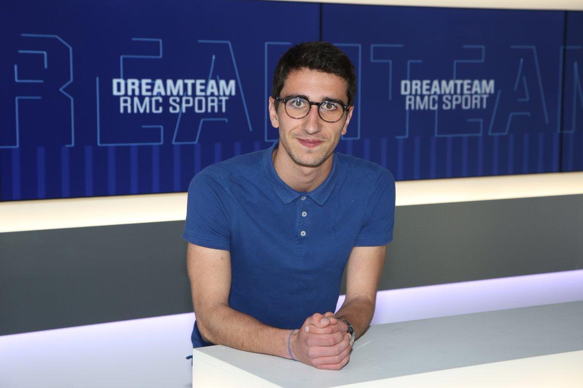 Valentin Jamin lauréat de la bourse Marc van Moere de RMC Sports