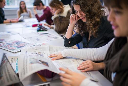 Parmi les épreuves écrites, un QCM pour tester notamment la connaissance de l'actualité des candidats.