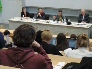 Tours : quatre candidats à la mairie débattent à l'EPJT