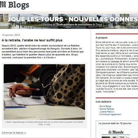 Nouveau blog EPJT sur LeMonde.fr