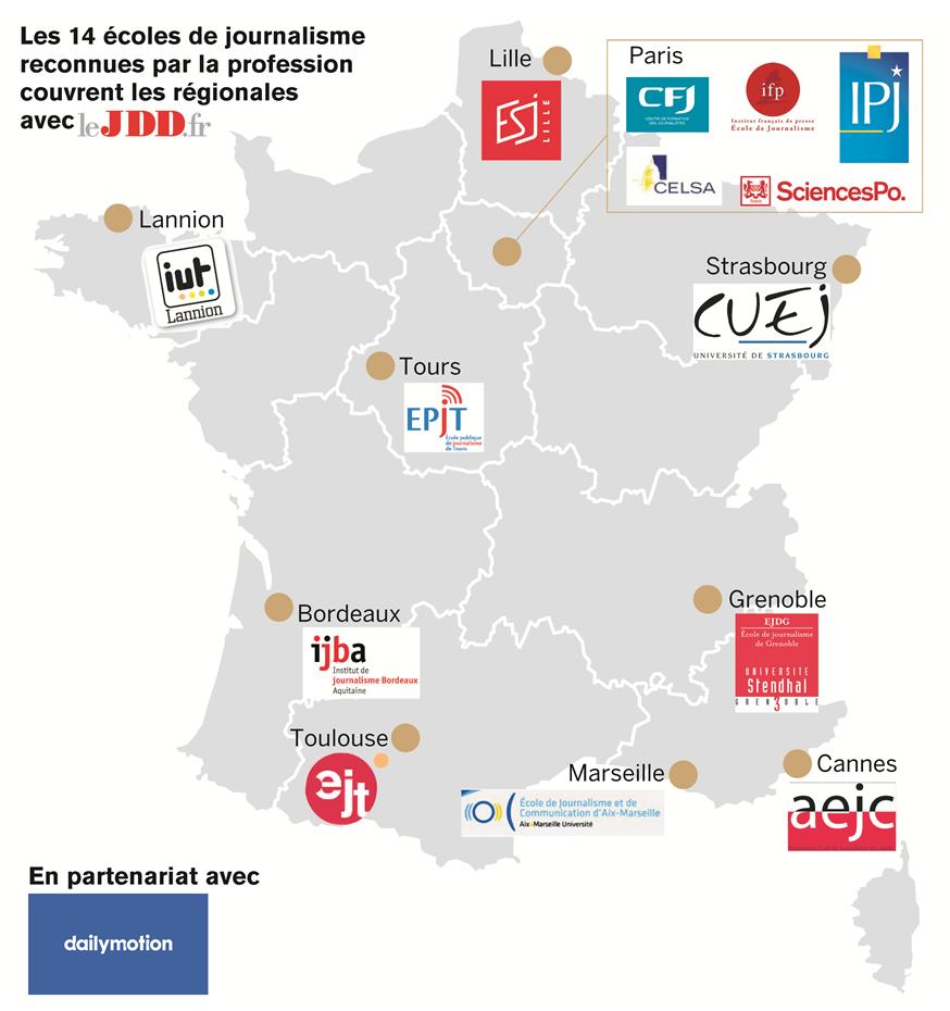 Régionales : l'EPJT sur leJDD.fr