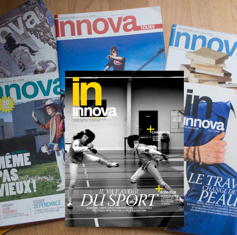 Un crowdfunding pour Innova, le mag de l'école