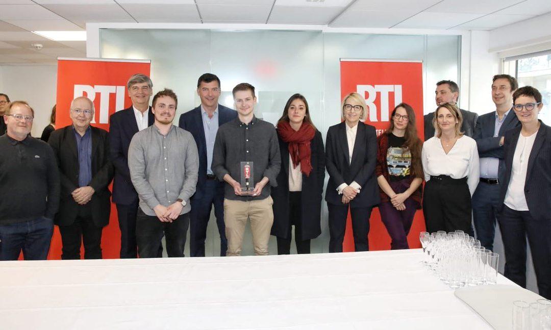 Thomas Dullin lauréat de la bourse Jean-Baptiste Dumas de RTL