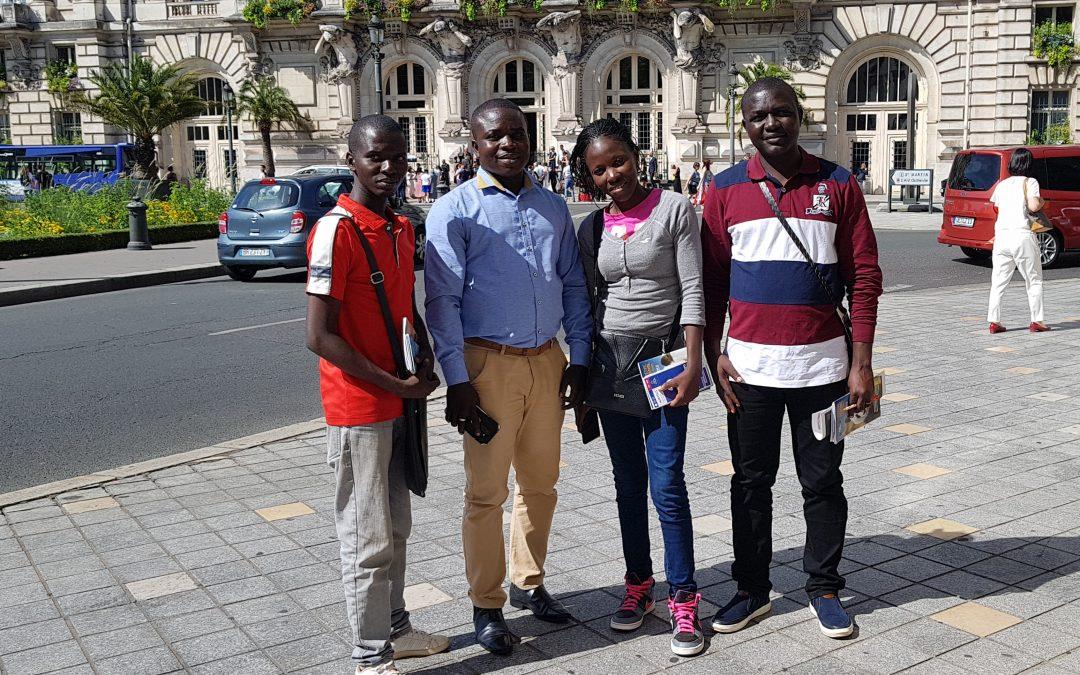 De Bangui à Tours