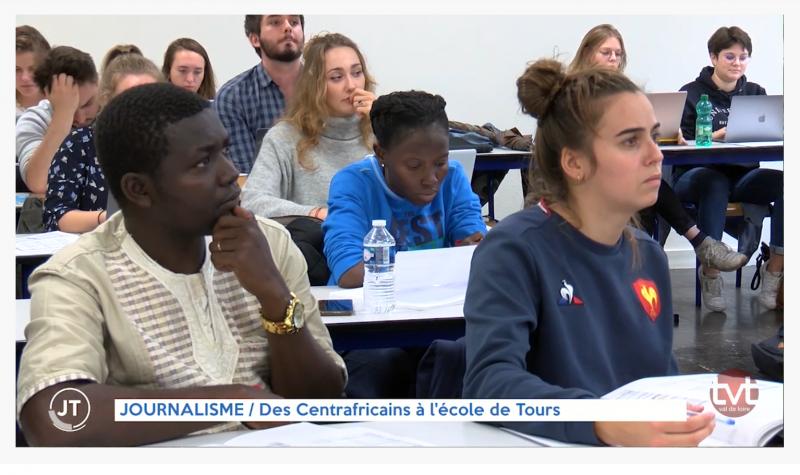 Des Centrafricains entrent en master de journalisme à l'EPJT