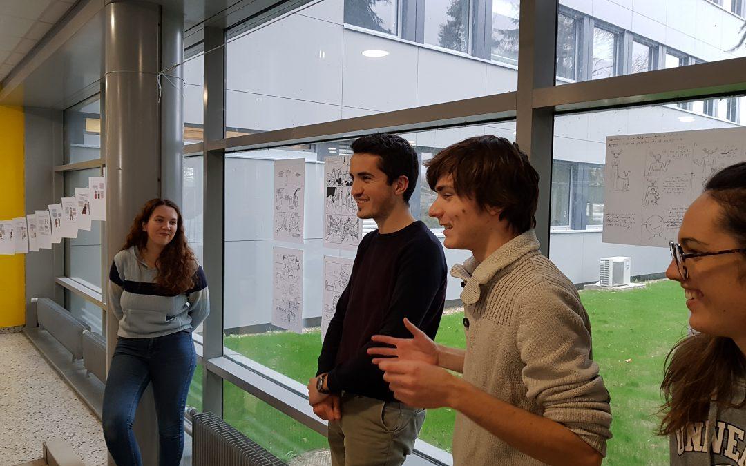 Avec l'Académie Brassart-Delcourt, l'EPJT à l'heure de la Bande dessinée