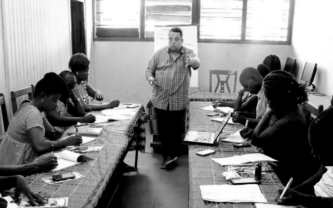 Deux intervenants de l'EPJT forment de futurs journalistes centrafricains