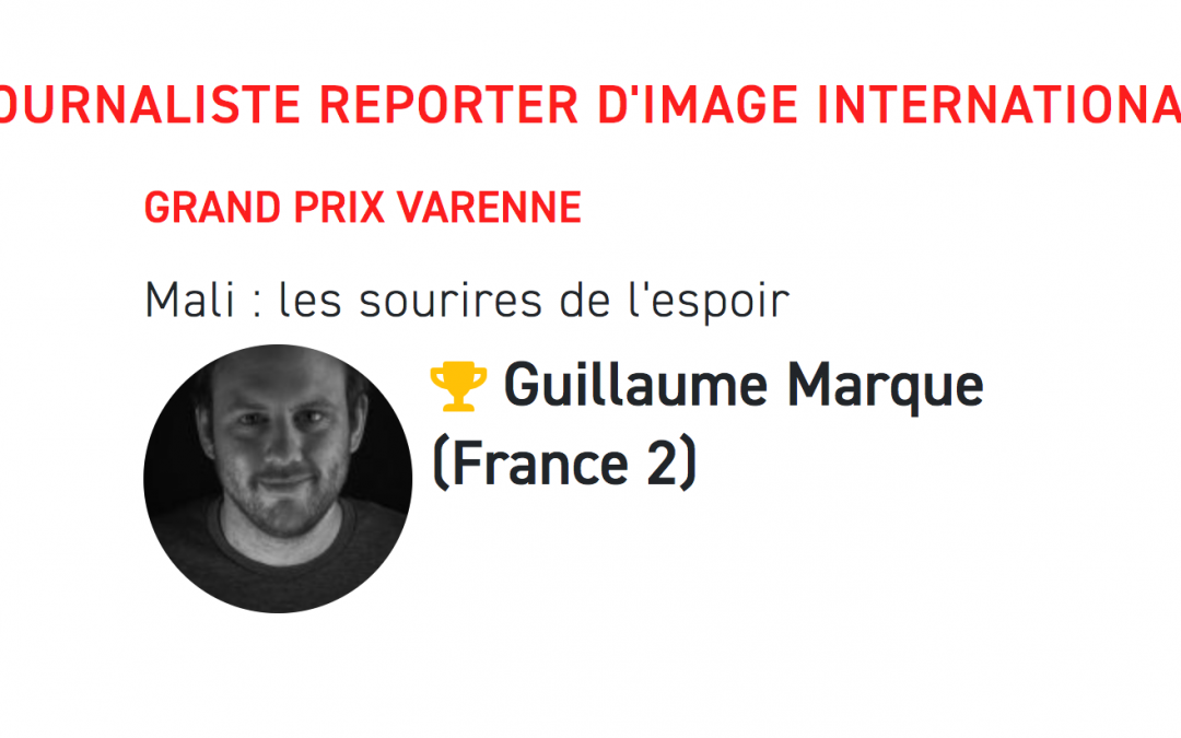Guillaume Marque remporte le prix Varenne du JRI international