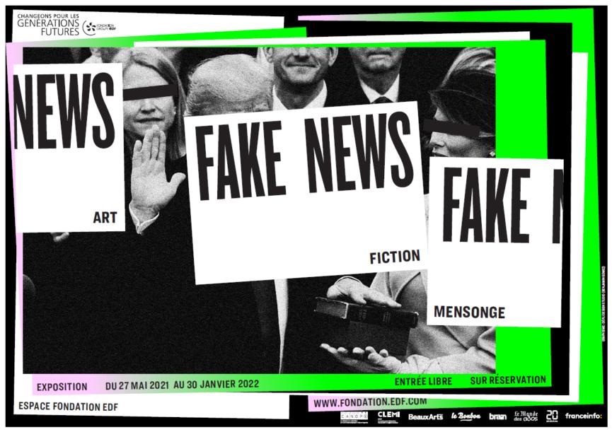 Une exposition sur les fake news en partenariat avec l'EPJT